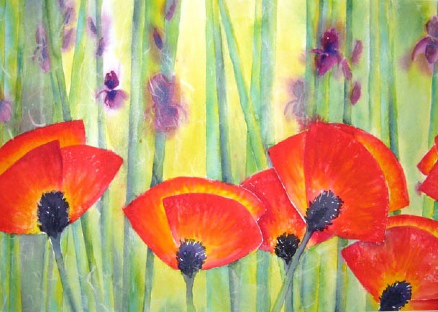 abstractpoppies